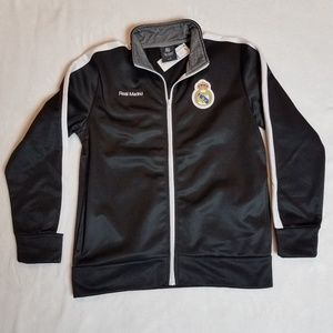 Boys Track Jacket Soccer Real Madrid- Size Large
